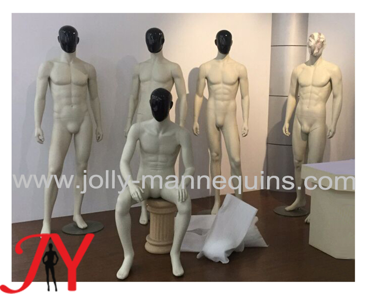 male mannequins with change head