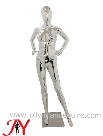 Jolly mannequins-Plastic chrome female mannequins-SF-16