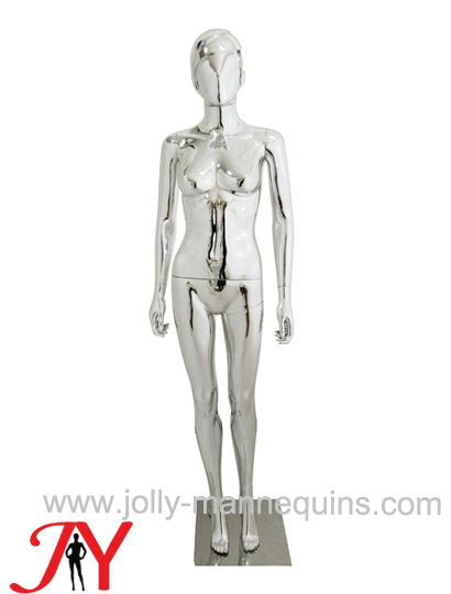 Jolly mannequins-Plastic chrome female mannequins-SF-6