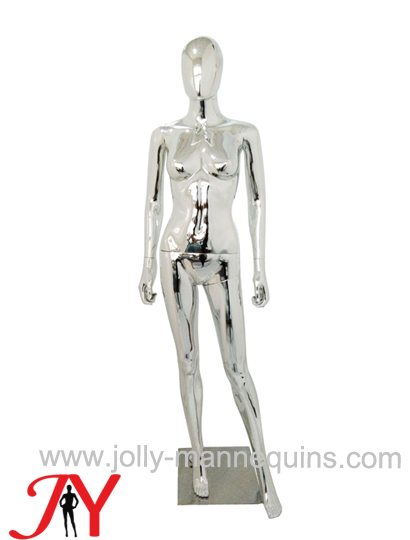 Jolly mannequins-Plastic chrome female mannequins-SF-1