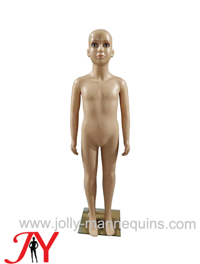 Jolly mannequins-plastic child mannequin skin color PE 110cm-JPC-1