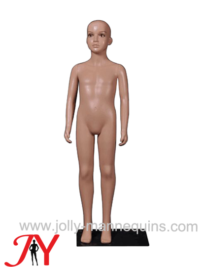 Jolly mannequins-Plastic child mannequin with makeup 130cm-Jc-3