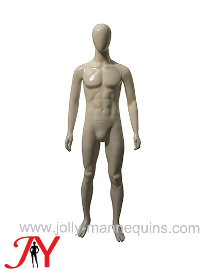 Jolly mannequins-male egghead ..