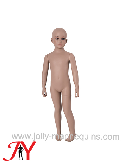Jolly mannequins-realistic child mannequin with makeup FRP B-10