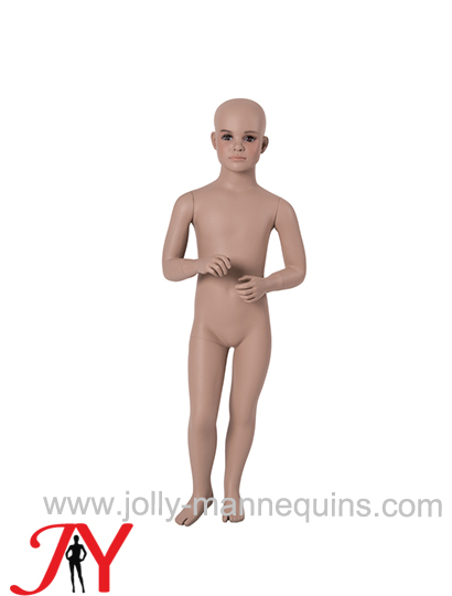 Jolly mannequins-FRP child mannequin with skin color makeup B-20