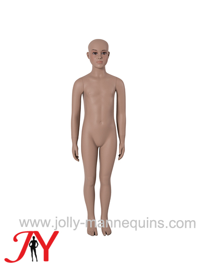 Jolly mannequins-Dummy child 7/8 years FRP mannequin with makeup B-60