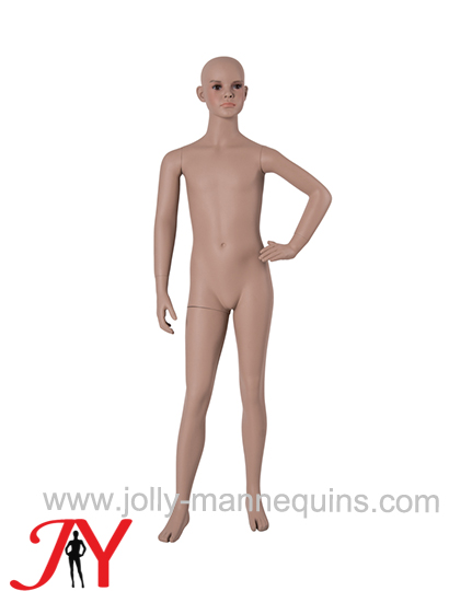 Jolly mannequins-Dummy child 9/10 years FRP mannequin with makeup B-70