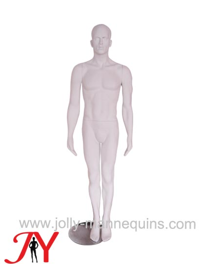 realistic male mannequin with matte color-JYALM02