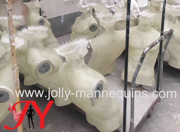 Jolly mannequins start making raw effect transparent finish mannequins