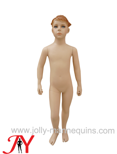 Jolly mannequins Skin color boy with make up realistic child mannequins JY-K201