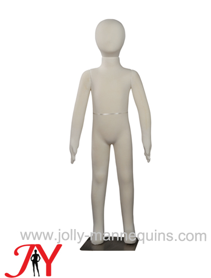 Jolly mannequins 104cm removable head soft flexible child mannequin JY-FM6