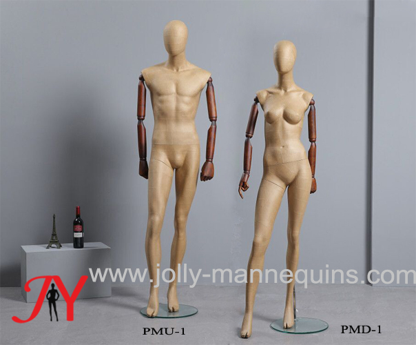 Jolly Mannequins new full body PAPER MACHE dress forms PMU-1 and PMD-1 are launched