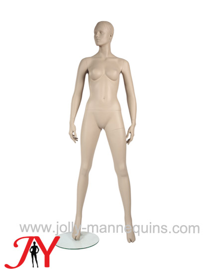 Jolly mannequins classic skin color realistic female mannequin wide open legs JY-F104C