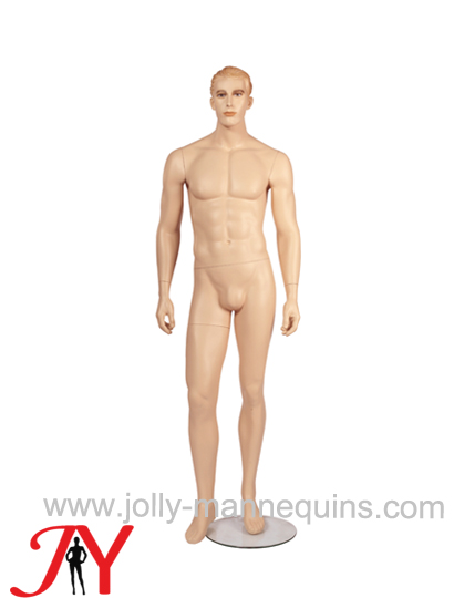 Jolly mannequins realistic male mannequin staight arms JY-MNC