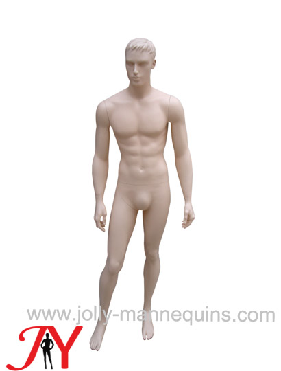 Jolly mannequins skin color realistic male mannequin JY-MAF1033