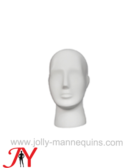 Jolly mannequins white color abstract mannequin display head JY-H002