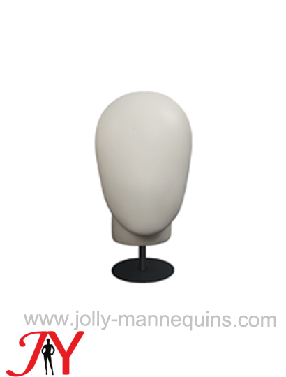 Jolly mannequins white faceless mannequin display head JY-H004
