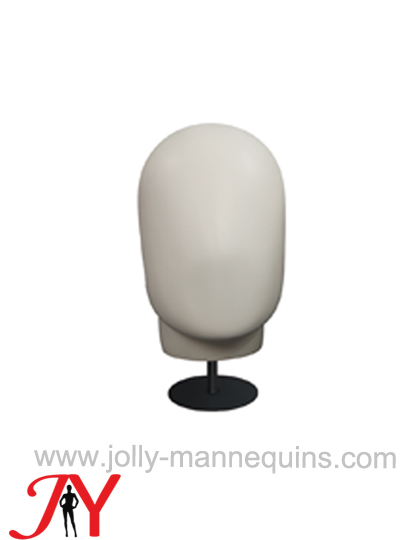 Jolly mannequins white faceless mannequin display head JY-H003