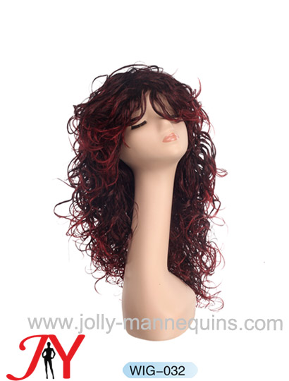 Jolly mannequins mannequin wig display  WIG-032