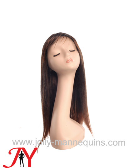 Jolly mannequins long part lace soft wonderful silky touching wig WIG-254