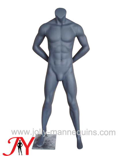 Jolly mannequins sport athletic back arms European man mannequin MA-7