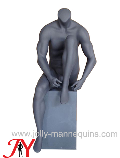 sport male headless sitting manenquin-MR-1