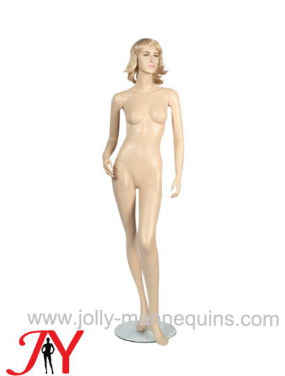 Jolly mannequins-realistic female mannequin with skin color makeup-WL-3