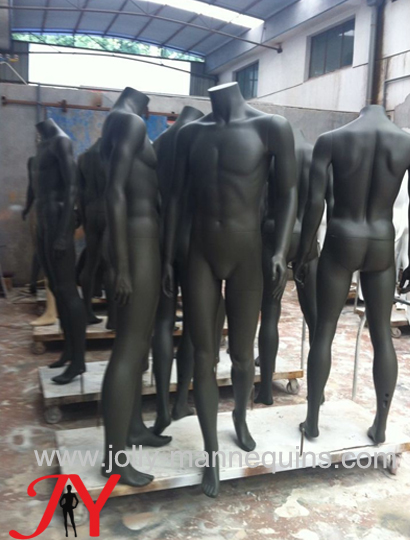 Jolly mannequins-display sport..