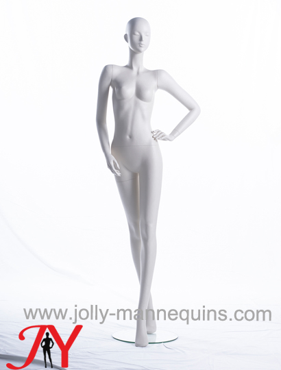 Jolly mannequins-Full body luxury abstract head display female mannequins-Alessia105
