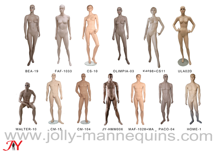 Jolly mannequins-skin color re..