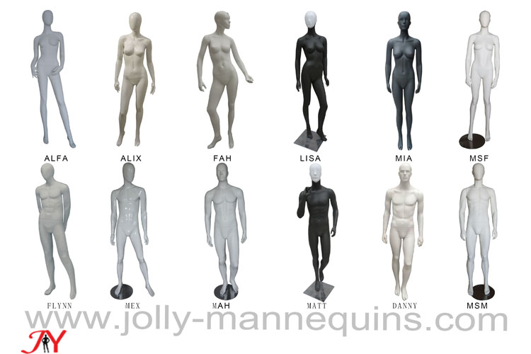 Jolly mannequins-Fashion abstr..