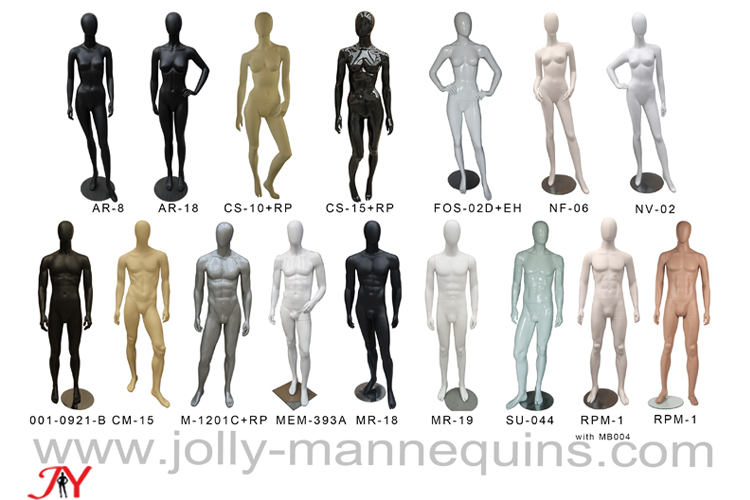 Jolly mannequins-standing eggh..