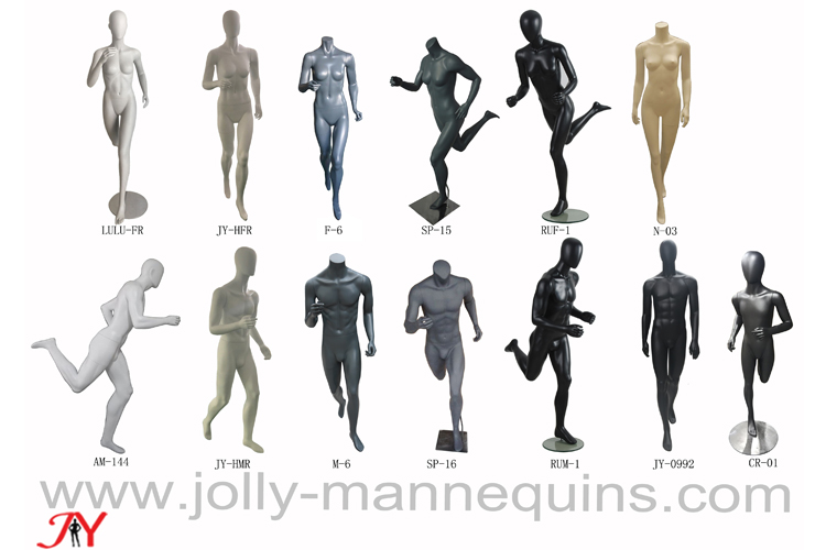 Jolly mannequins-New design sports running mannequins collection