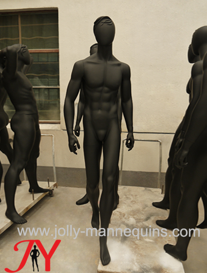 Jolly mannequins-European male..