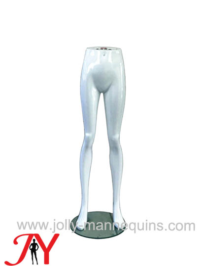 Standing female lower body leg..