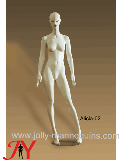 Jolly mannequins-luxury stylized full body standing female mannequin Alicia-2