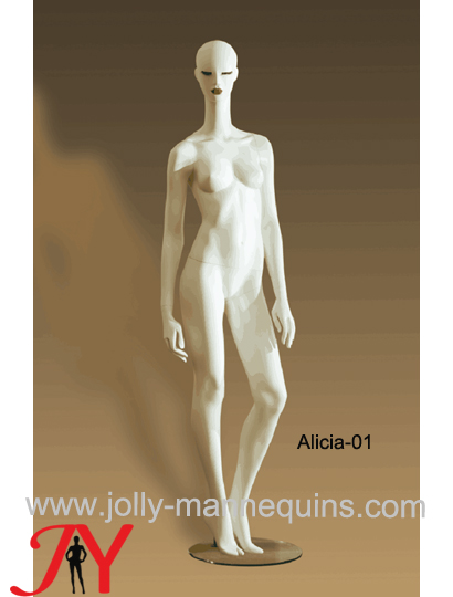 Jolly mannequins-straight arms luxury stylized female mannequin Alicia-1
