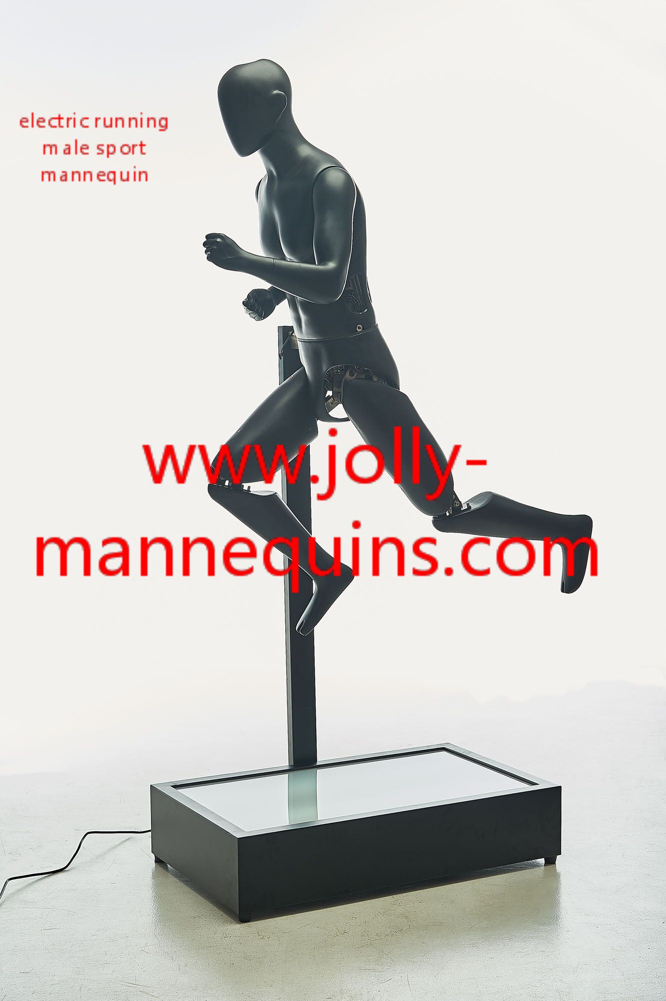 Jolly mannequins sport electri..