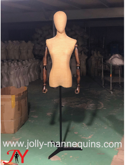 jolly mannequins colored yello..