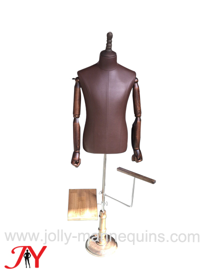 jolly mannequins brown PU male..