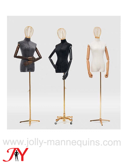 jolly mannequins wire head female dress form DF02