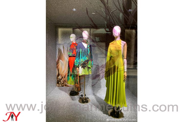 valentino landmark dress forms display