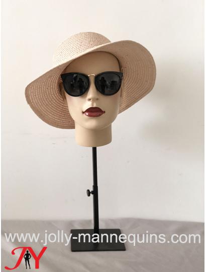jolly mannequins hat display mannequin head anita-1