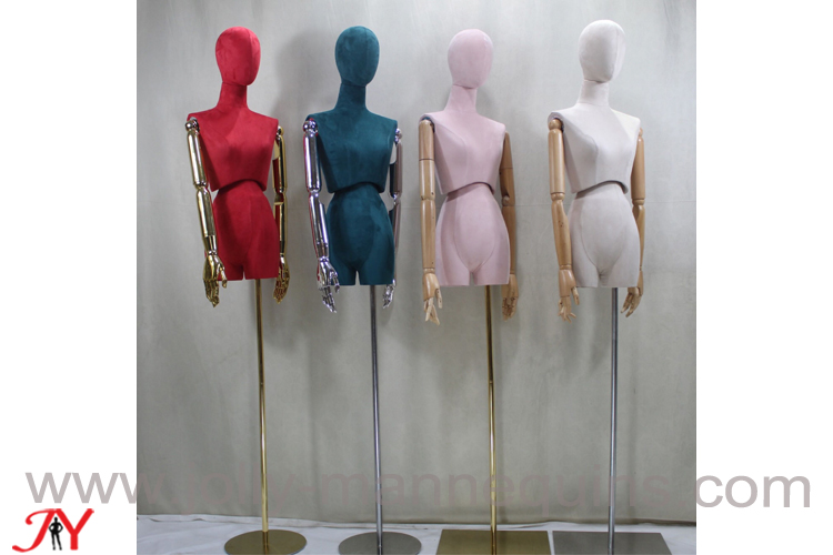 jolly mannequins flexible waist female dress form Beatrice