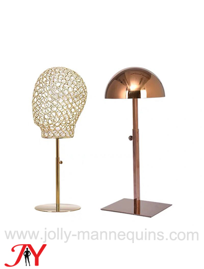 jolly mannequins gold wire head GHT