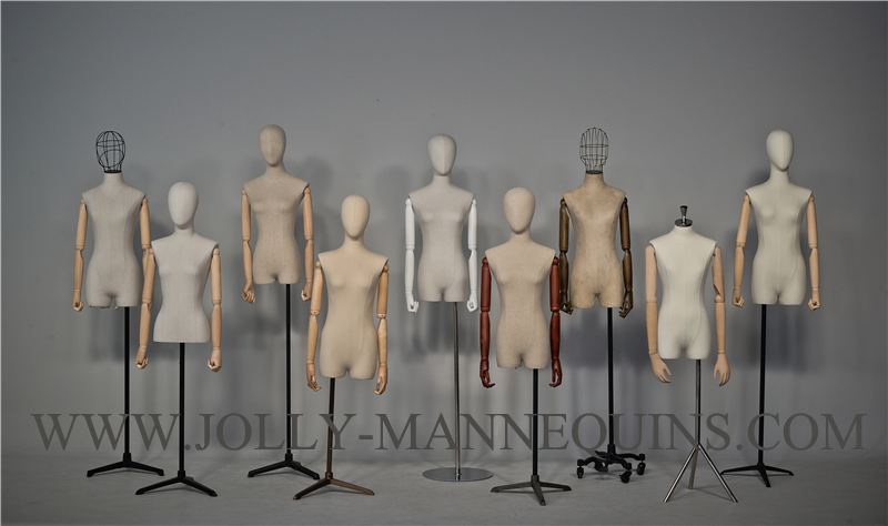 jolly mannequins multiple accessories choice female dress form mannequin Fiona