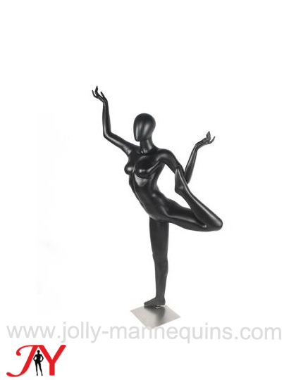 jolly mannequins female standing bow pulling pose yoga mannequins JR02
