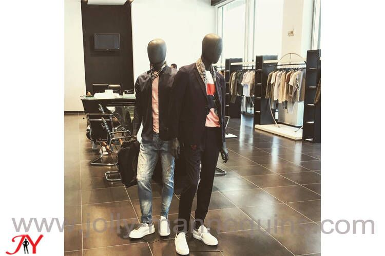 Men wear store display with Mex-12